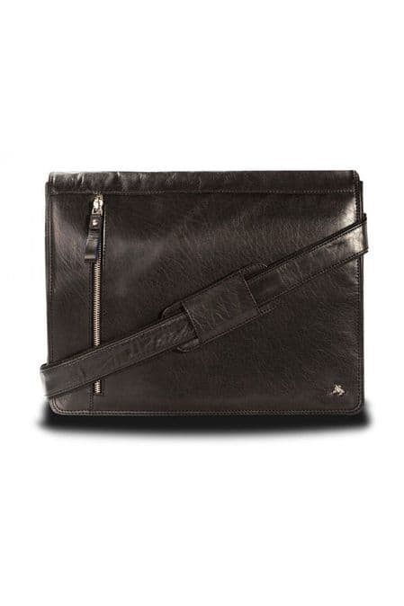 Visconti Messenger Bag in Black
